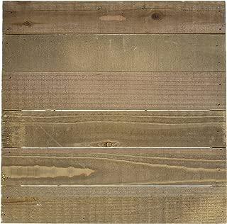 Hampton Art JB0462 Mix The Media Wooden Plank Plaque, 12