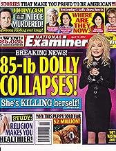 Dolly Parton, Johnny Cash, Marlena Dietrich, Malaysia Flight 370 - April 14, 2014 National Examiner Magazine