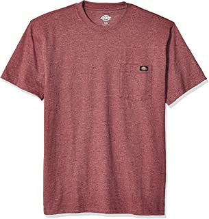 Dickies Mens WS450H Short Sleeve Heavyweight Heathered Crew Neck Tee Short Sleeve T-Shirt