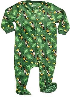 5f1cf30810 Leveret Fleece Baby Boys Footed Pajamas Sleeper Kids   Toddler Pajamas (3  Months-5