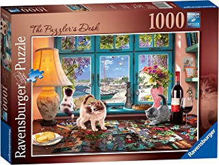 Ravensburger - The Puzzler's Desk 1000 Piece Jigsaw Puzzle for Adults & for Kids Age 12 and Up