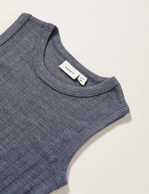 Name It Nbmwang Wool Plain Ls Body XX B/éb/é Fille