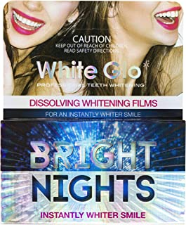 White Glo Brigthening Nights Dissolving Whitening Film, Revolutionary New Way To Whiten Your Smile Instantly, Whitening St...