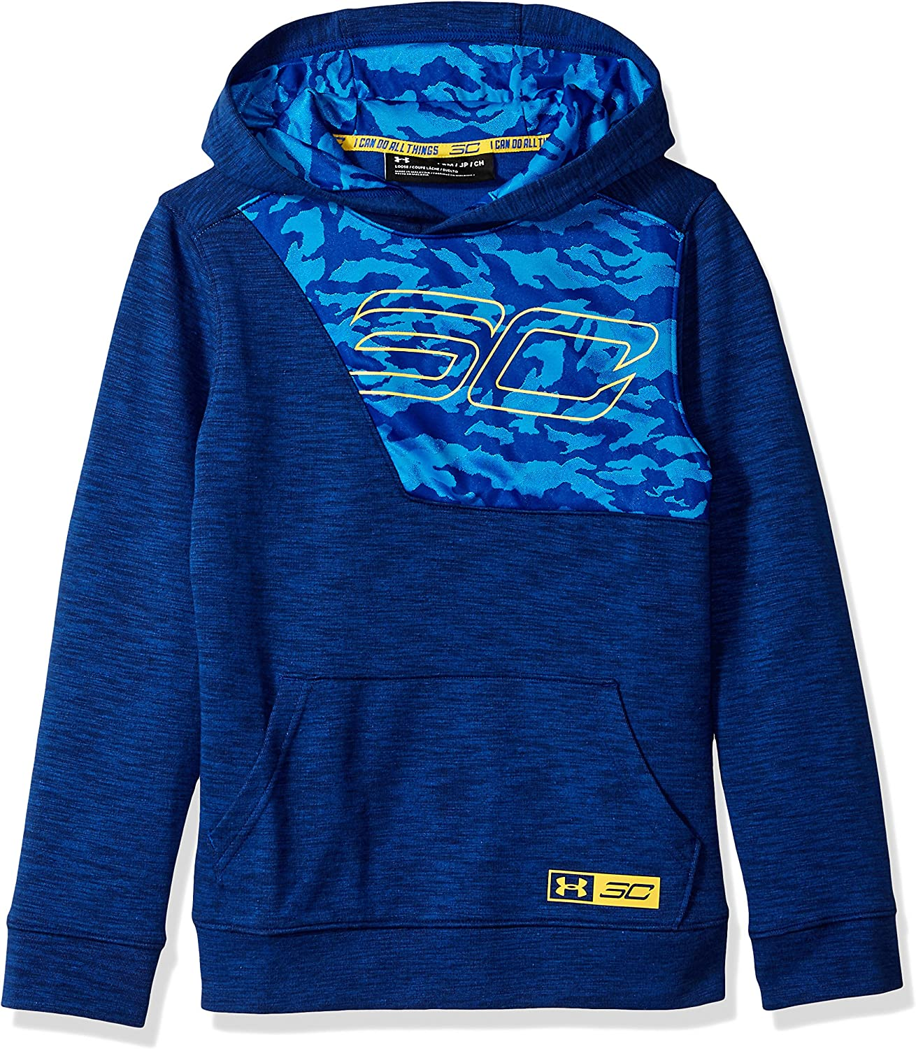Under Armour Boys' Sc30 Double Knit Hoodie
