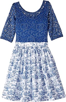 fiveloaves twofish - Wanderlust Toile Dress (Little Kids/Big Kids)