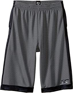 Steph Curry 30 Top Gun Shorts (Big Kids)