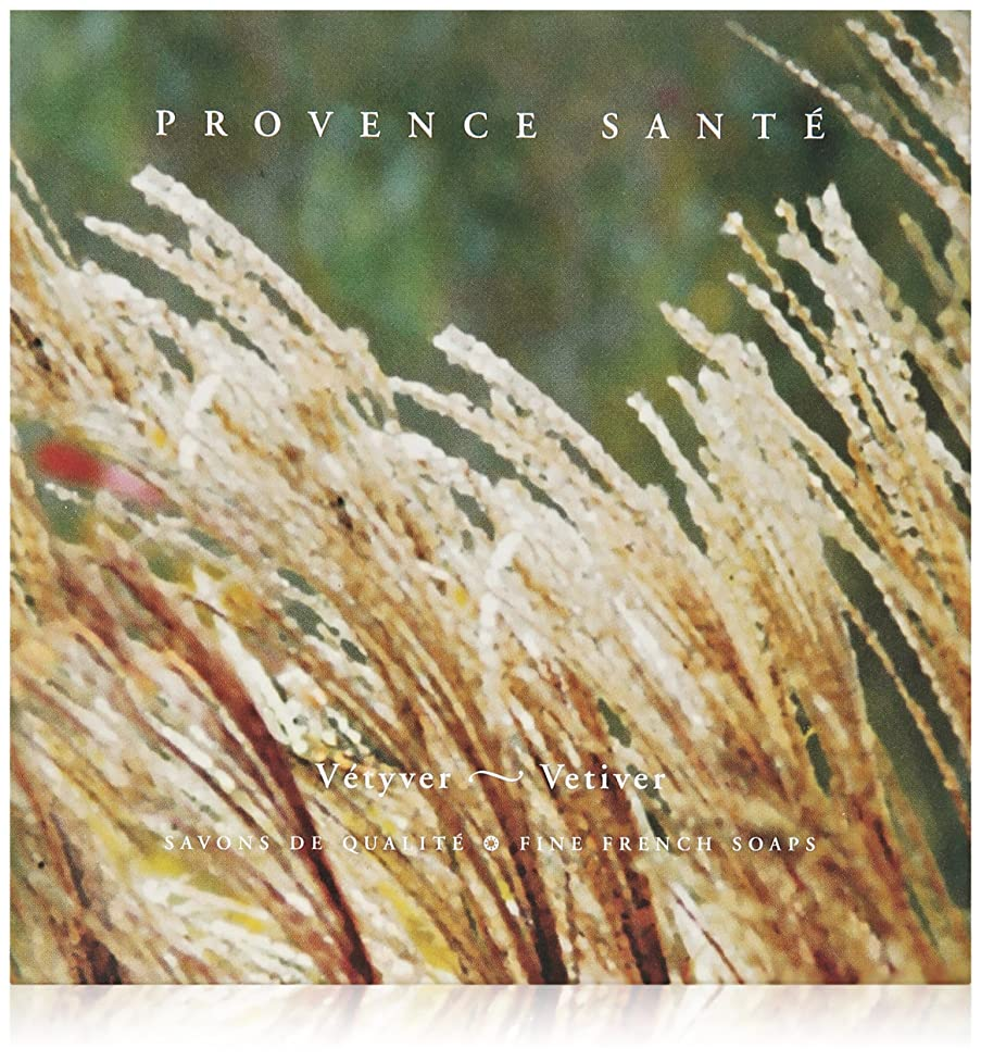 Provence Sante PS Gift Soap Vetiver, 2.7oz 4 Bar Gift Box