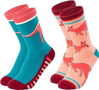 Animal Socks for Girls – Cute Colorful Novelty Crew Socks, Animal Designs