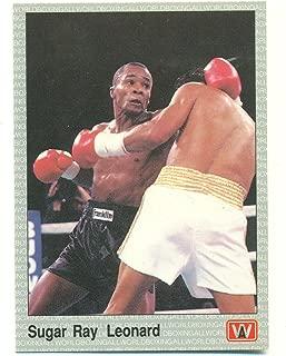 1991 AW Boxing Sugar Ray Leonard #24 - Boxing Card