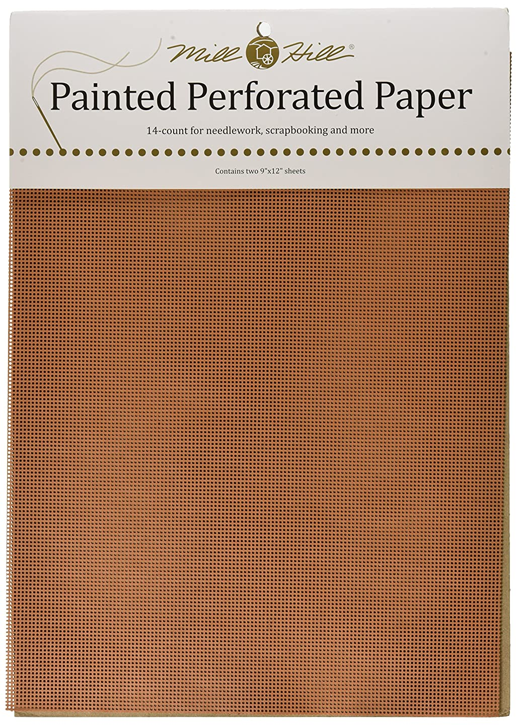Mill Hill Painted Perforated Paper 14 Count 9