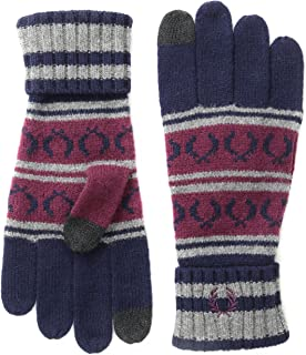 Fred Perry Men's Fairisle Touchscreen Knit Gloves