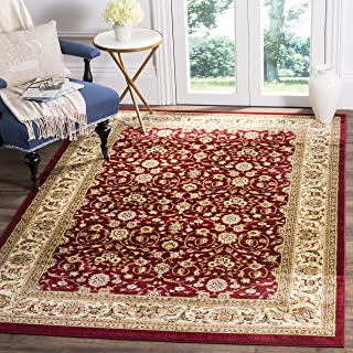 Safavieh Lyndhurst Collection LNH312A Traditional Oriental Red and Ivory Area Rug (10' x 14')