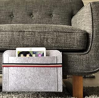 Bedside Caddy | Couchside Caddy | Back Seat Car Organizer | Hanging File Organizer | Modern Multipurpose Storage & Organizer