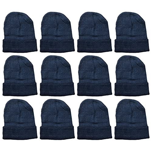 5806b509e74715 Yacht & Smith Mens Womens Warm Winter Hats in Assorted Colors, Mens Womens  Unisex