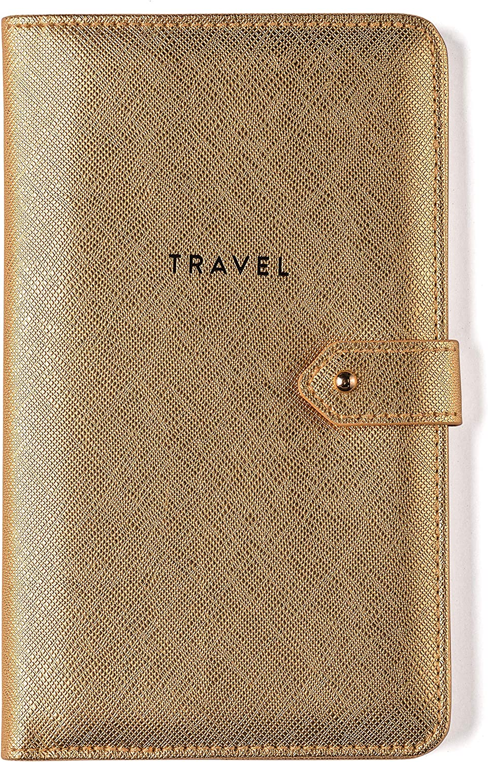 Eccolo Bifold Travel Wallet With Complete Free Shipping Closure Button Stud Organize Max 49% OFF