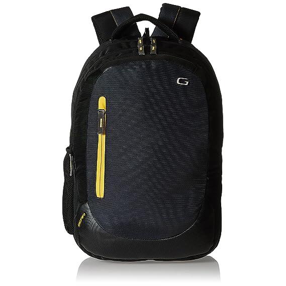 Gear Polyester 24 Ltrs Denim Grey Laptop Backpack (LBPECONO10412)