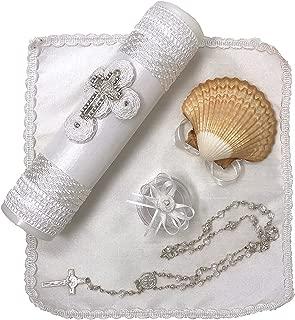 Salve Regina Hand Made Baptism Kit - Model 1