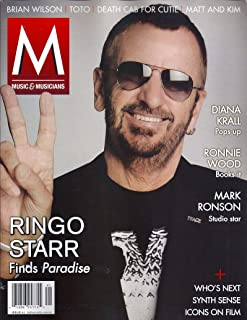 Ringo Starr (The Beatles) l Diana Krall l Ronnie Wood (The Rolling Stones) l Mark Ronson - 2015 Music & Musicians Number 41