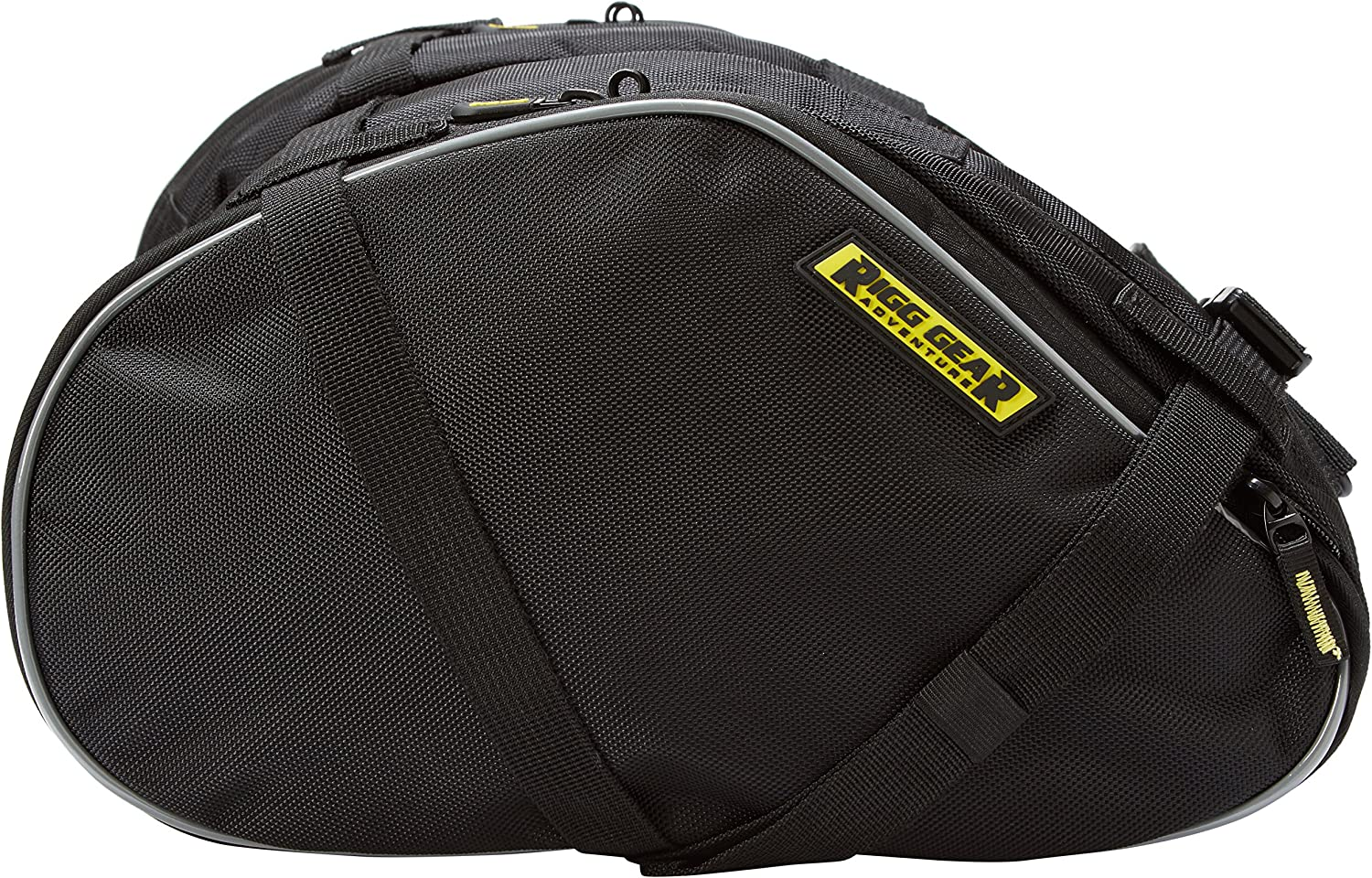 Nelson-Rigg Black RG-020 Be super welcome Dual Sport Saddlebags One Size Enduro Tampa Mall