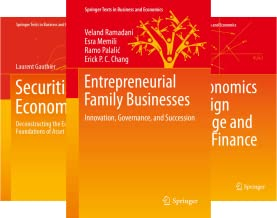 Springer Texts in Business and Economics (101-117) (17 Book Series)