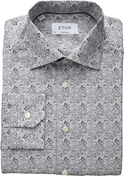 Contemporary Fit Paisley Shirt