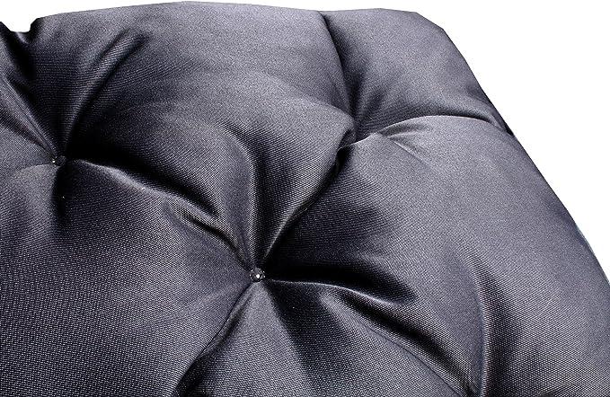 Meerweh Mare WEH Palette Cuscino con Schienale Cuscino per Euro Palette 74091 Verde 120/x 140/x 10/cm