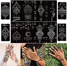 airbrush stencil Body Painting custom stencil DIY Projects Henna Tattoos Large VIP Brand Stencil wall stencil 29.60 x 14.80
