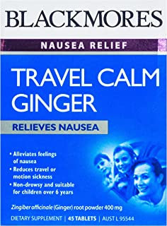 Blackmores Travel Calm Ginger (45 Tablets)