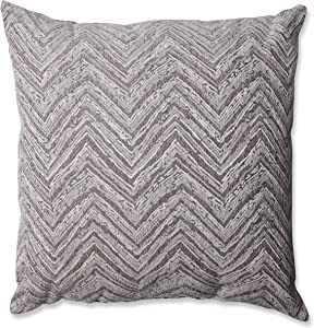 Pillow Perfect Union Driftwood Chenille Floor Pillow, 24.5-Inch