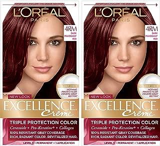 loreal hair colour mahogany brown