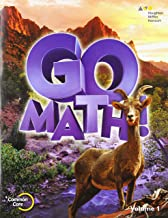 Go Math!: Student Edition Volume 1 Grade 6 2015