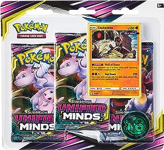Pokémon POK82570 Pokemon TCG: Sun & Moon 11 Unified Minds Blister 3-Pack, colores mixtos , color/modelo surtido