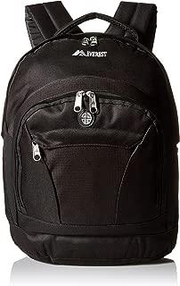 Everest Conveniente mochila Explorer, Negro, Una talla