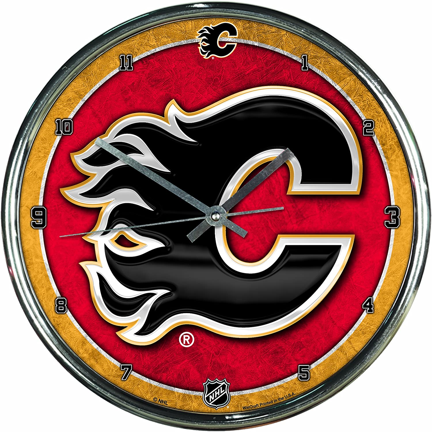 WinCraft NHL Max 80% OFF Clock New product Chrome