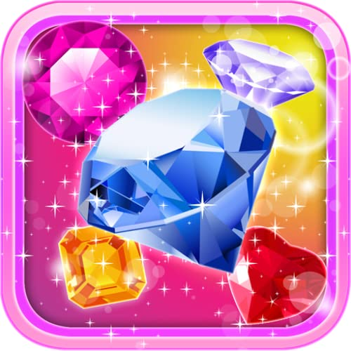 Crystal Insanity - Ultimate Match 3 Gems or Jewels Free Kindle Fire Games