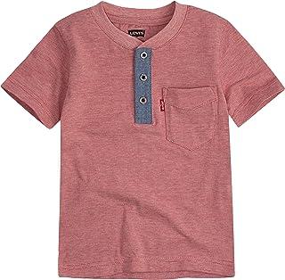 Levi's Boys' One Pocket Henley T-Shirt