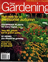 fine gardening magazine back issues
