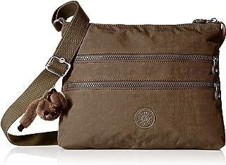Kipling Women's Alvar Soft Earthy Beige Tonal Crossbody Bag, t