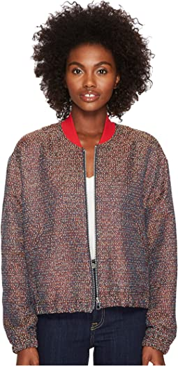 Paul Smith Tweed Bomber Jacket