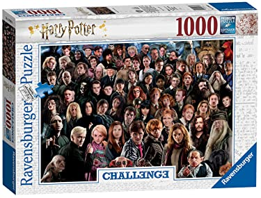 Ravensburger 14988 Teile Erwachsenenpuzzle Harry Potter Challenge 1000 Piece Jigsaw Puzzle for Adults & for Kids Age 12 and Up, Multicoloured