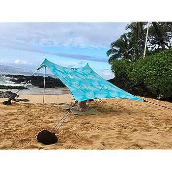 9 ft 2,8 m 9 ft Aqua Fronds Verst/ärkte Ecken und K/ühlfach x 2,8 m 2,1 m hoch Neso Zelte Grande Beach Zelt