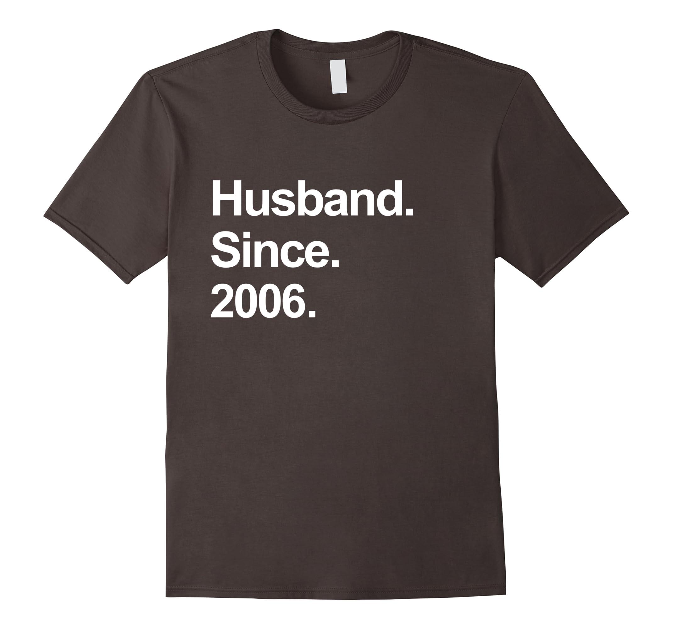 Mens 12th Wedding Anniversary Gifts Husband Since 2006 Shirt Ah My