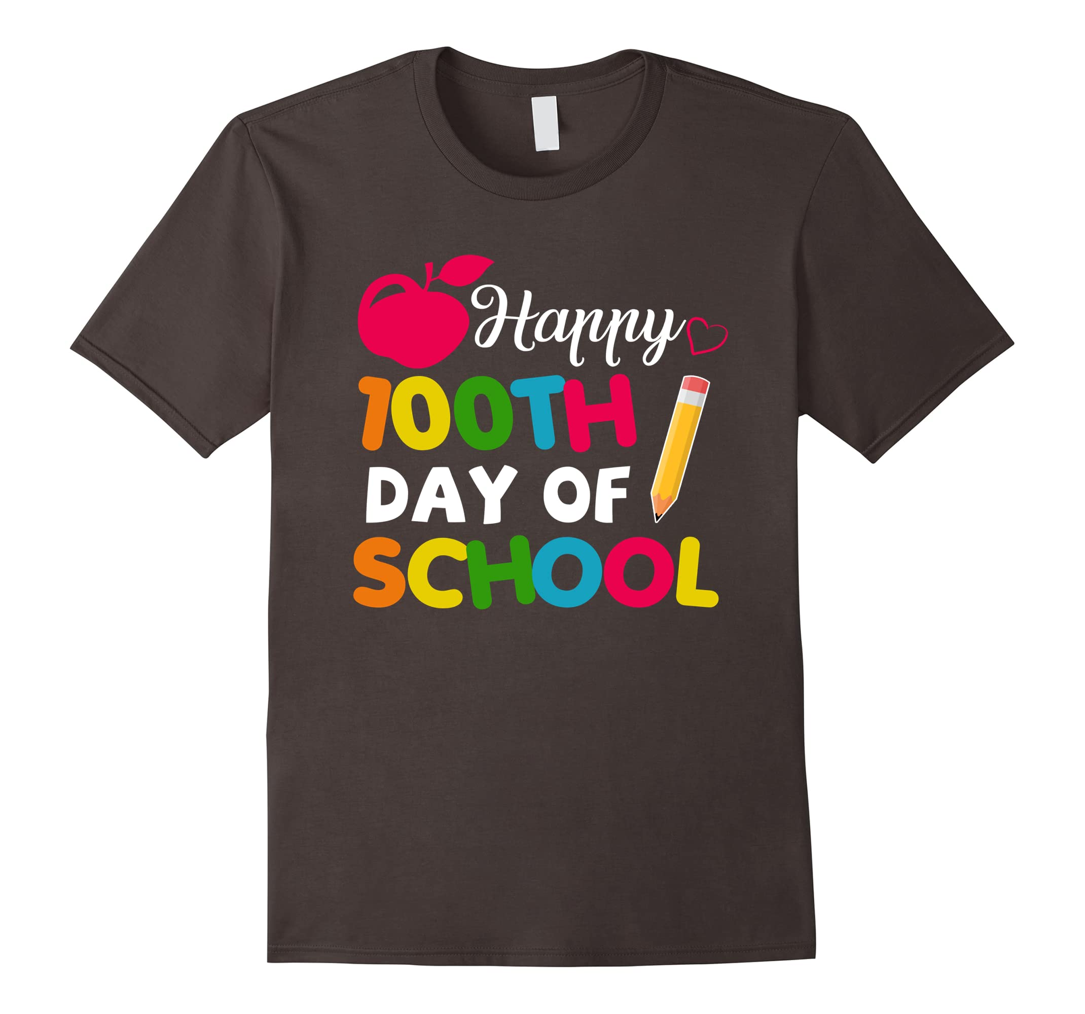 Happy 100th Day of School Shirt for Teacher or Child-ah my shirt one gift