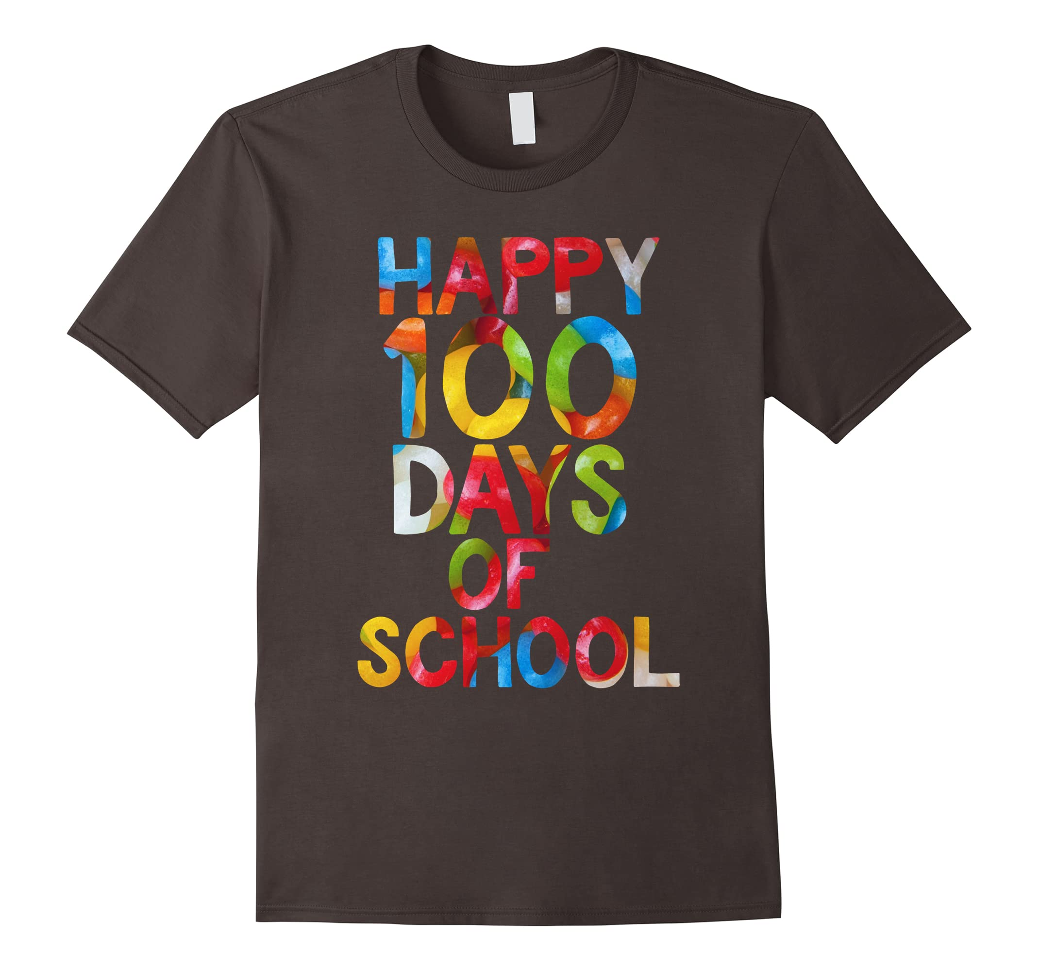 100th Day of School T-Shirt Happy 100 Days Of School Tee-RT