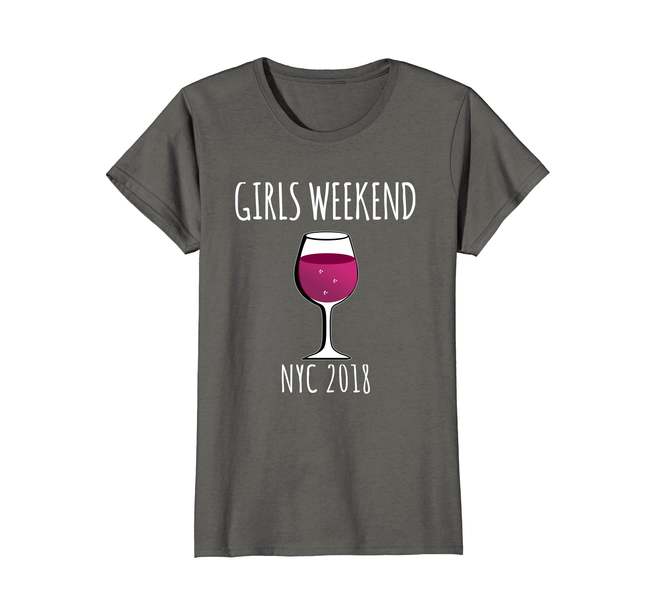 8f742a22 Amazon.com: Girls Weekend NYC 2018 Shirt Cute Ladies Trip Party T-Shirt:  Clothing
