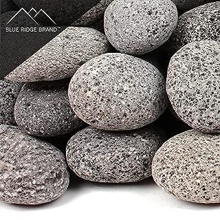 Blue Ridge Brand™ Lava Rock - 50-Pound Tumbled Lava Stones for Fire Pit - 2