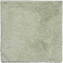 Grund Bath Rug, Ultra Soft and Absorbent, Organic Cotton Yarn, Anti Slip, CALO, Small mat 60x60 cm, Jade-Green