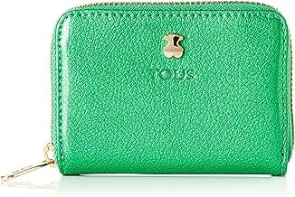 Tous 995960389, Monedero para Mujer, Verde (Verde), 10x8x2.5 cm (W x H x L)