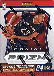 2015/16 Panini Prizm NBA Basketball Blaster Box (15-16) - 24 Cards per Box (3 Exclusive Orange Wave Prizms per Box)
