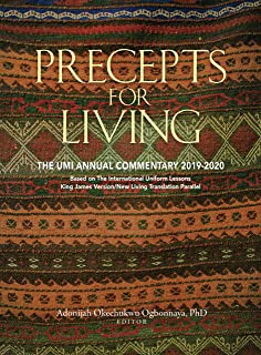 Precepts for Living (2019-2020)